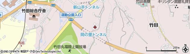 大分県竹田市竹田2215周辺の地図