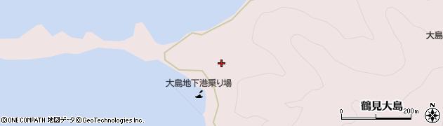 大分県佐伯市鶴見大字大島361周辺の地図