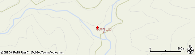 大分県佐伯市本匠大字宇津々823周辺の地図