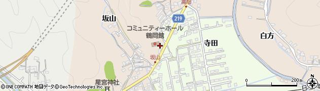 大分県佐伯市鶴望2551周辺の地図