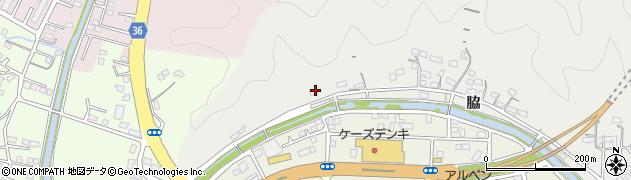 大分県佐伯市鶴望1110周辺の地図