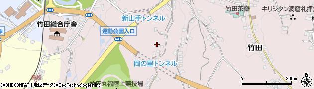 大分県竹田市竹田2216周辺の地図