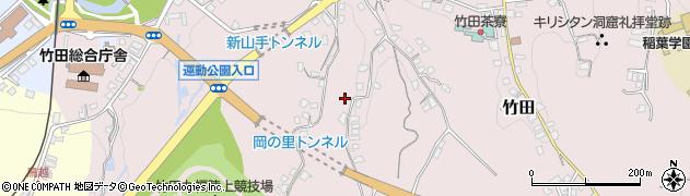 大分県竹田市竹田2258周辺の地図