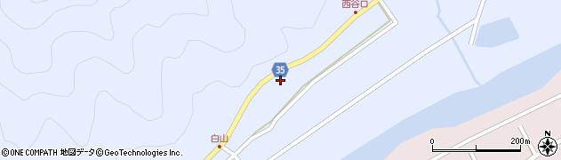 大分県佐伯市弥生大字山梨子411周辺の地図