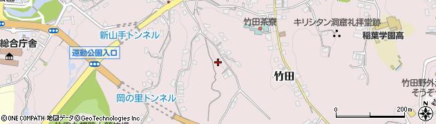 大分県竹田市竹田2332周辺の地図