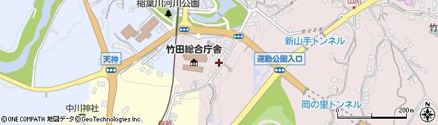 大分県竹田市竹田1516周辺の地図