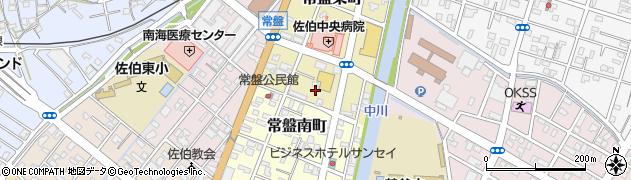大分県佐伯市常盤東町3周辺の地図