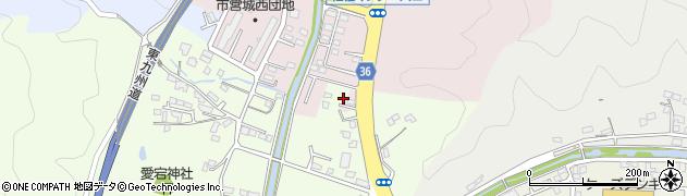 大分県佐伯市上岡3454周辺の地図