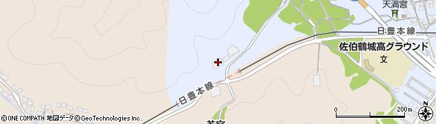 大分県佐伯市臼坪2881周辺の地図