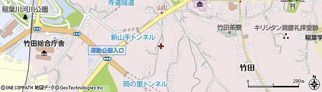 大分県竹田市竹田2228周辺の地図