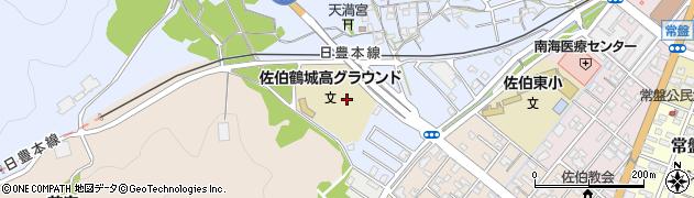 大分県佐伯市臼坪5周辺の地図