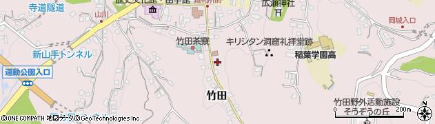 大分県竹田市竹田2486周辺の地図