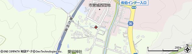 大分県佐伯市稲垣116周辺の地図