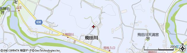 大分県竹田市飛田川2525周辺の地図