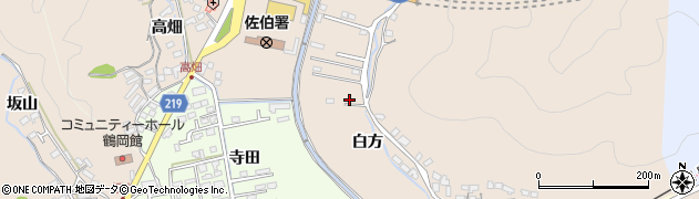 大分県佐伯市鶴望3731周辺の地図