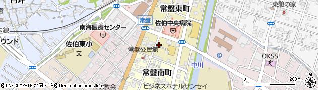 大分県佐伯市常盤東町3-15周辺の地図