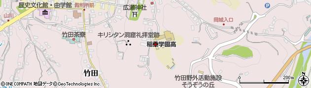 大分県竹田市竹田2509周辺の地図