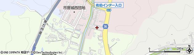 大分県佐伯市上岡3457周辺の地図