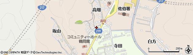 大分県佐伯市鶴望2629周辺の地図