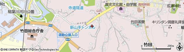 大分県竹田市竹田2170周辺の地図