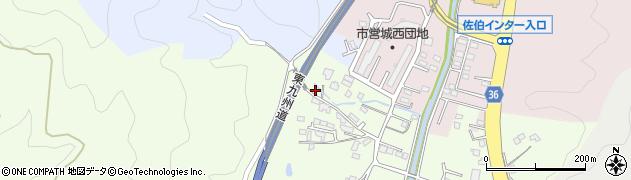 大分県佐伯市稲垣490周辺の地図