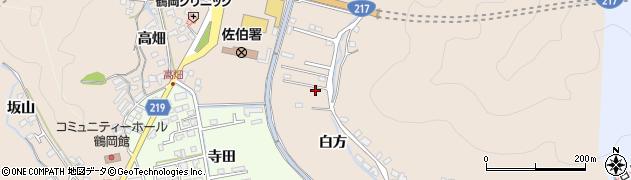 大分県佐伯市鶴望3728周辺の地図