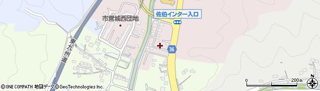 大分県佐伯市上岡3461周辺の地図