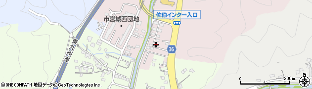 大分県佐伯市上岡3441周辺の地図