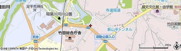 大分県竹田市竹田1538周辺の地図
