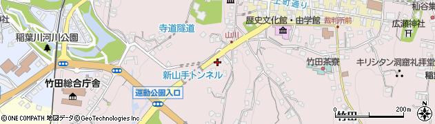 大分県竹田市竹田2162周辺の地図