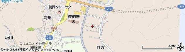 大分県佐伯市鶴望3722周辺の地図