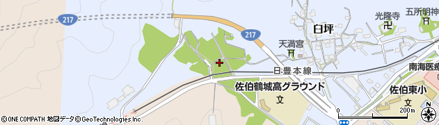 大分県佐伯市臼坪7周辺の地図