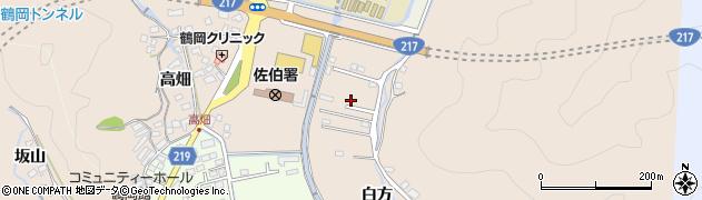 大分県佐伯市鶴望3720周辺の地図