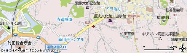大分県竹田市竹田2236周辺の地図