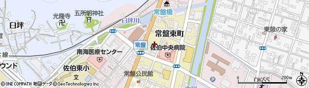 大分県佐伯市常盤東町5周辺の地図