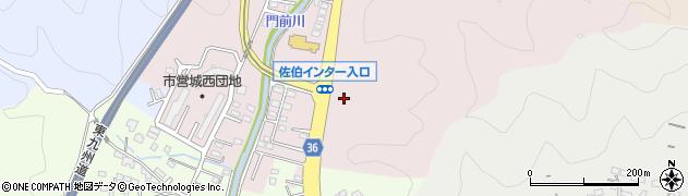 大分県佐伯市上岡3503周辺の地図