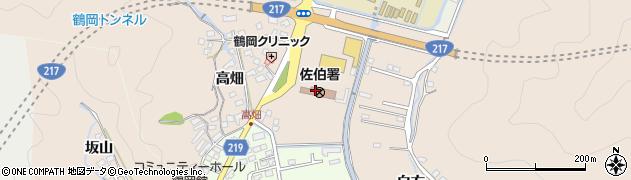 大分県佐伯市鶴望2825周辺の地図