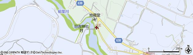 大分県竹田市平田78周辺の地図