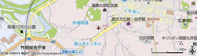 大分県竹田市竹田2153周辺の地図