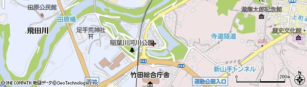 大分県竹田市飛田川1747周辺の地図
