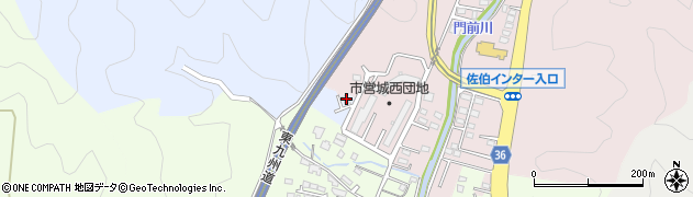 大分県佐伯市上岡2204周辺の地図