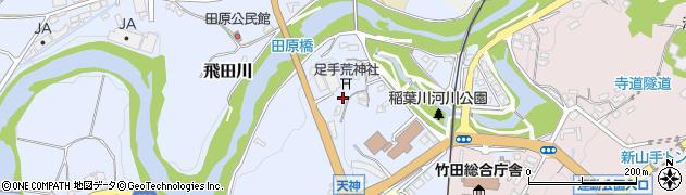 大分県竹田市飛田川1590周辺の地図