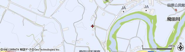 大分県竹田市飛田川2212周辺の地図