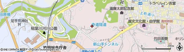 大分県竹田市竹田1648周辺の地図
