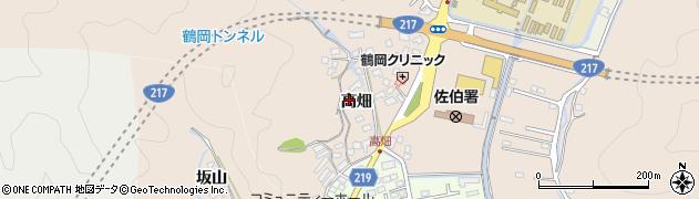 大分県佐伯市鶴望2709周辺の地図