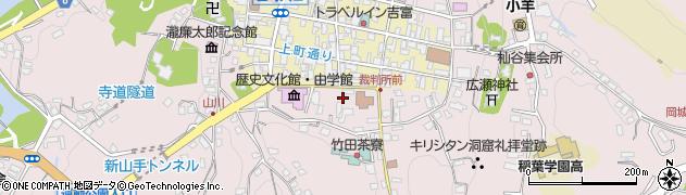 大分県竹田市竹田殿町周辺の地図