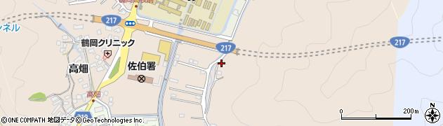 大分県佐伯市鶴望4057周辺の地図