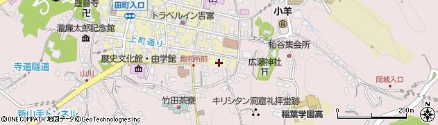 大分県竹田市竹田町8周辺の地図