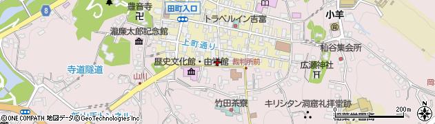 大分県竹田市竹田町34周辺の地図