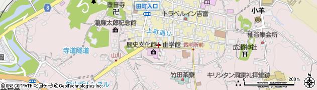 大分県竹田市竹田町420周辺の地図